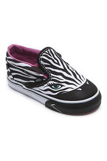 VANS Zebra slip-on trainers 2-4 years