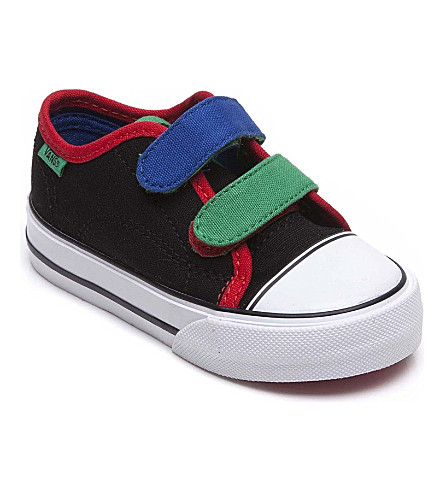 VANS Velcro trainers 2-4 years (Black
