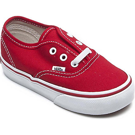 VANS Authentic trainers 2-4 years (Red