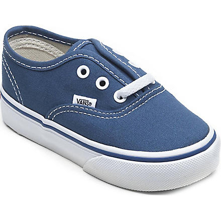 VANS Authentic low-top trainers 2-5 years (Navy