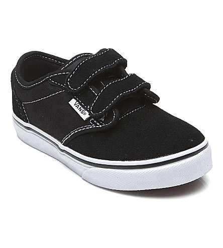 VANS Double strap trainers 5-8 years (Black