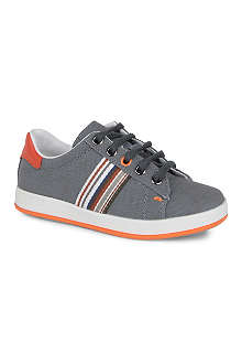 PAUL SMITH Lace-up canvas trainers 9-10 years
