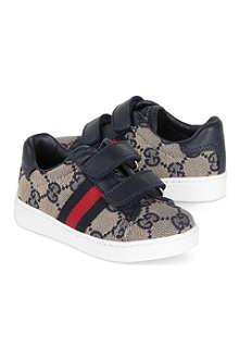 GUCCI Leather logo trainers 6 months - 5 years