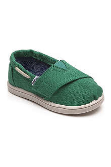 TOMS Earthwise Vegan classic slip-on shoes 1-11 years