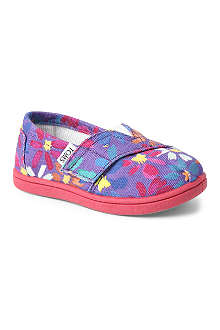 TOMS Daisy slip-on shoes
