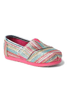 TOMS Alpargarta slip-on shoes 2-9 years