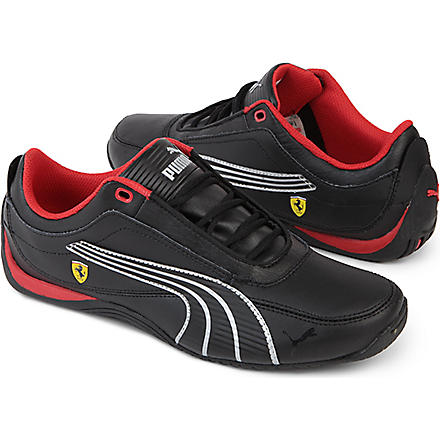 PUMA Ferrari trainers 9-10 years (Black