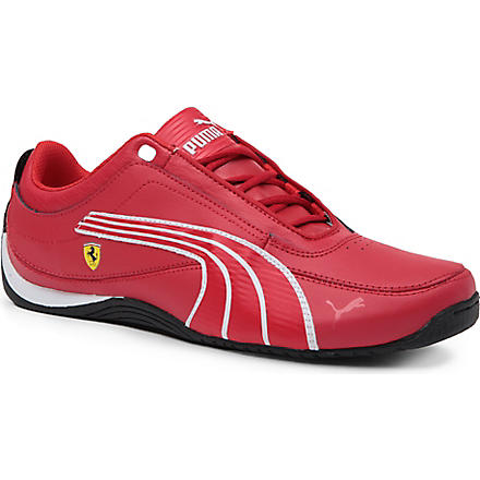 PUMA Ferrari trainers 9-10 years (Red