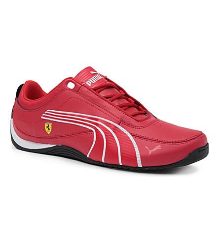 PUMA Ferrari trainers 9-10 years (Red