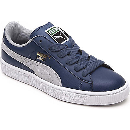 PUMA Trainers 9-10 years (Blue