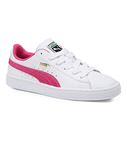 PUMA Trainers 9-10 years (White