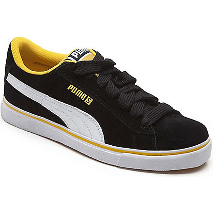 PUMA Suede trainers 8-10 years (Black