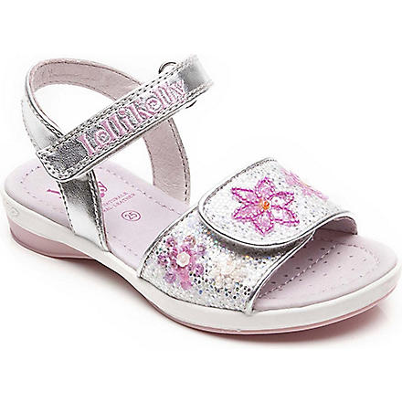 LELLI KELLY Glitter jewel sandals 3-8 years (Silver