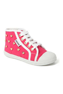 MOSCHINO Heart high-top trainers 2-6 years