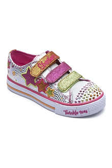 SKECHERS Twinkle Toes trainers 6-8 years