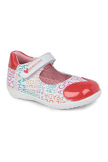 AGATHA RUIZ DE LA PRADA Branded heart bar shoes 1-3 years