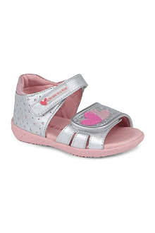AGATHA RUIZ DE LA PRADA Heart sandals 1-3 years