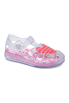AGATHA RUIZ DE LA PRADA Heart jelly sandals 2-5 years