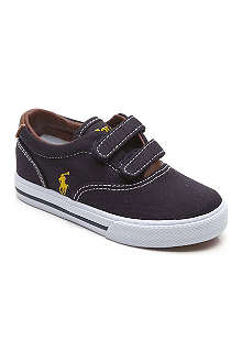 RALPH LAUREN Canvas velcro trainers 3-8 years