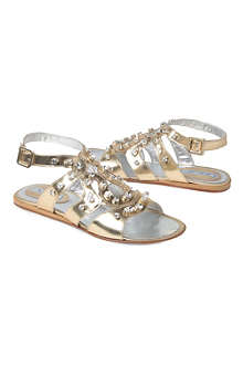 MIMISOL Studded sandals 7-10 years