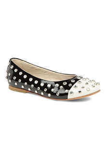 SIMONETTA Studded pumps 7-11 years