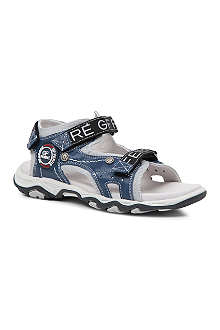 GF FERRE Two-tone sandals 6-11 years