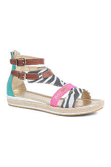 GF FERRE Printed sandals 7-10 years