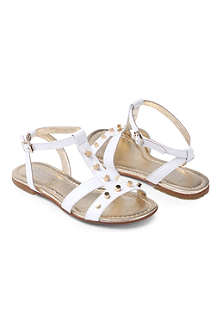 ANDREA MONTELPARE Studded gladiator sandals 7-10 years