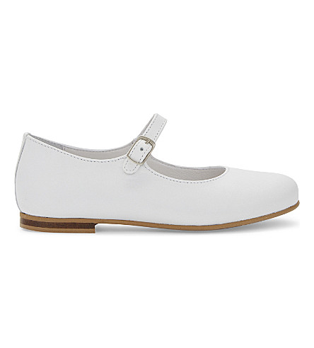 STEP2WO Leila leather Mary Jane shoes 4-6 years (White+leather