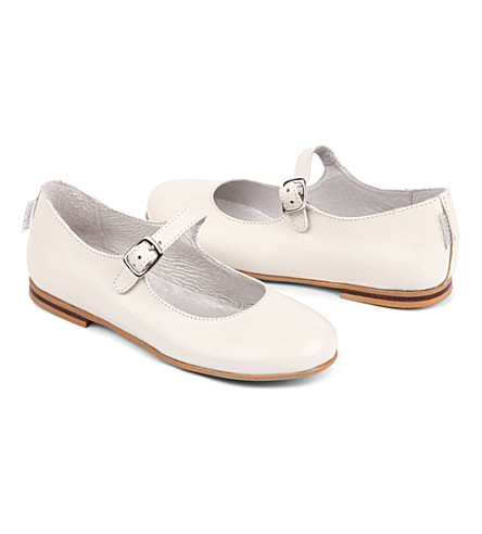 STEP2WO Leila Mary Jane shoes 6-9 years (Beige+leather