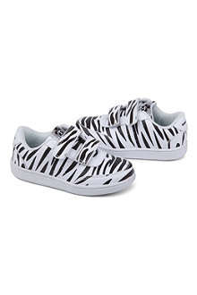 MINI RODINI Zebra trainers 3-7 years