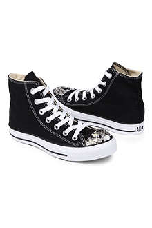 CM COUTURE Embellished high-top trainers 6-10 years