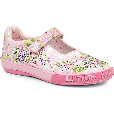 LELLI KELLY Swarovski-embellished shoes 3-9 years (Pink