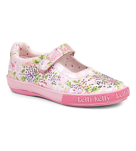 LELLI KELLY Swarovski-embellished shoes 3-9 years (Pink