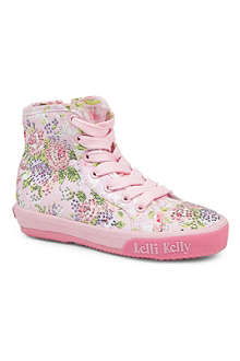 LELLI KELLY Swarovski-embellished high-top trainers 6-10 years