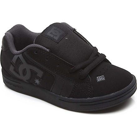 STEP2WO DC lace-up trainers 7-10 years (Black