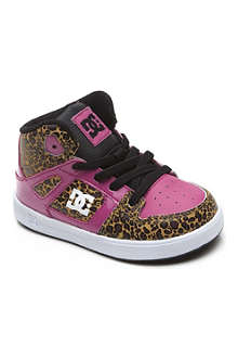 STEP2WO Pink leopard-print high top trainers 2-5 years