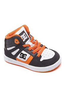 STEP2WO Hi-top contrast panel trainers 2-5 years