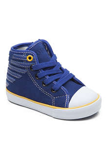 ARMANI JUNIOR Stripe hi-top trainers 2-5 years