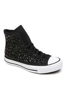 CONVERSE Embellished high top canvas trainers 6 months-3 years