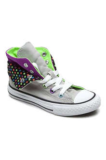 CONVERSE Double-fold polka-dot high-top 6-11 years