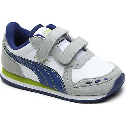 PUMA Two-strap trainers 2-9 years (White