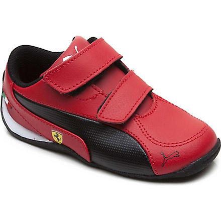 PUMA Ferrari Drift Cat trainers 5-10 years (Red