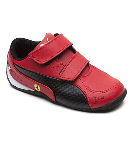 PUMA Ferrari Drift Cat trainers 5-10 years (Red