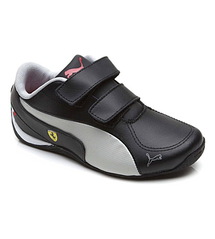 PUMA Ferrari Drift Cat trainers 1-10 years (Black