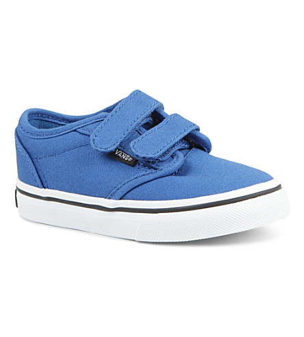 VANS Unisex velcro trainers 2-5 years (Blue