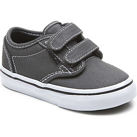 VANS Unisex velcro trainers 2-5 years (Grey