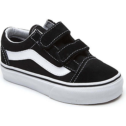 VANS Velcro trainers 4-8 years (Black