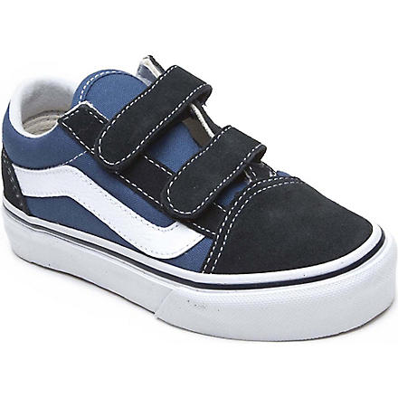 VANS Velcro trainers 4-8 years (Navy