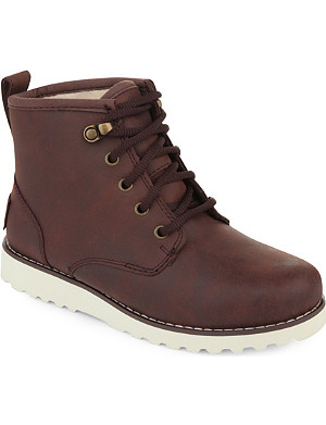 UGG Maple waterproof leather lace-up boots 0-1 year